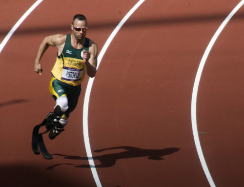 I want to get in the Octagon with Oscar Pistorius